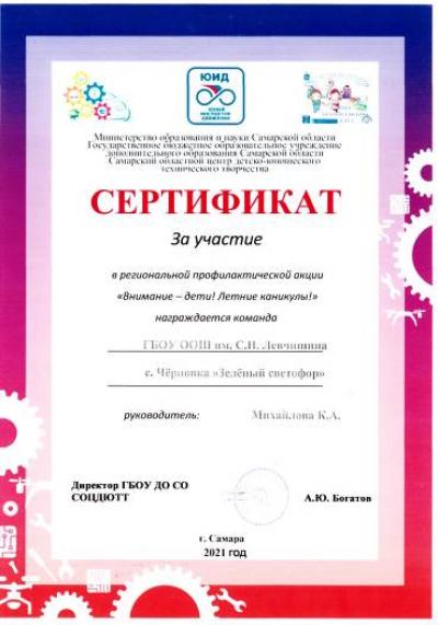 Команда юных инспекторов движения «Зелёный светофор» #Чёрновскойшколы приняли участие в региональной профилактической акции «Внимание – дети! Летние каникулы!»