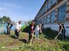 9 июня в #Чёрновскойшколе прошла экологическая акция по уборке пришкольной территории «Мой дом-моя школа».