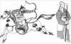 Рисунки к единому уроку по истории «Самарское Знамя» представила  юная художница Чёрновской школы Настя К.